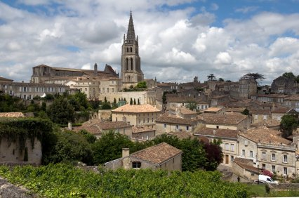 Some of the world's finest wines come from St Emilion.
