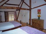 Example Upstairs 2 x double bed en-suite bedroom