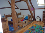 Gite Children's bedroom with separate dedicated shower room