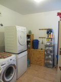 Cottage Laundry room, with shower and toilet facilities as en-suite to downstairs bedroom