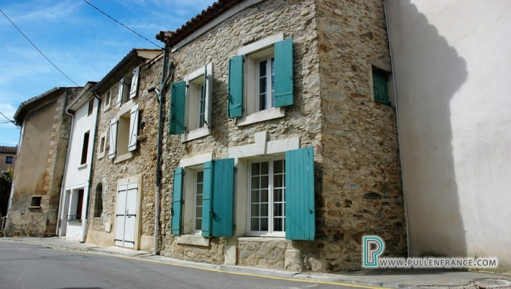 Attractive Stone Village House With Garden And Pool In Bize Minervois, Aude