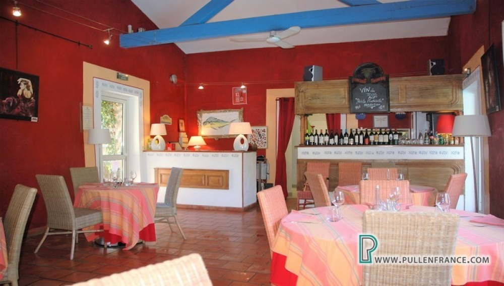 Renovated Former Winery In Busy Corbieres Village With Huge Business Potential