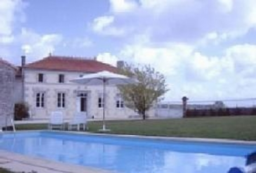 Farmhouse with Pool in Barbezieres, Charente, France - FOR SALE