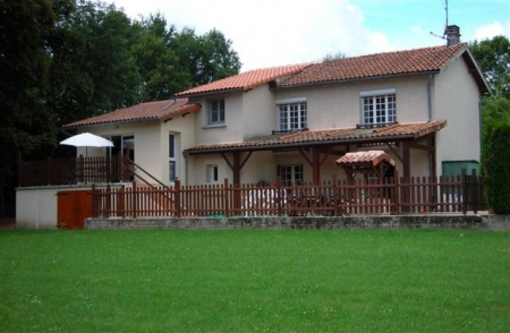 Large House For Sale in Confolens, Poitou-Charentes, France