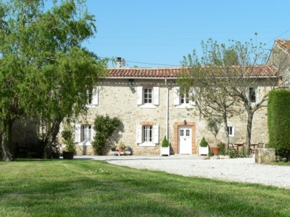 Tarn Farmhouse and 3 upmarket gites with 12 metre Swimming Pool, France