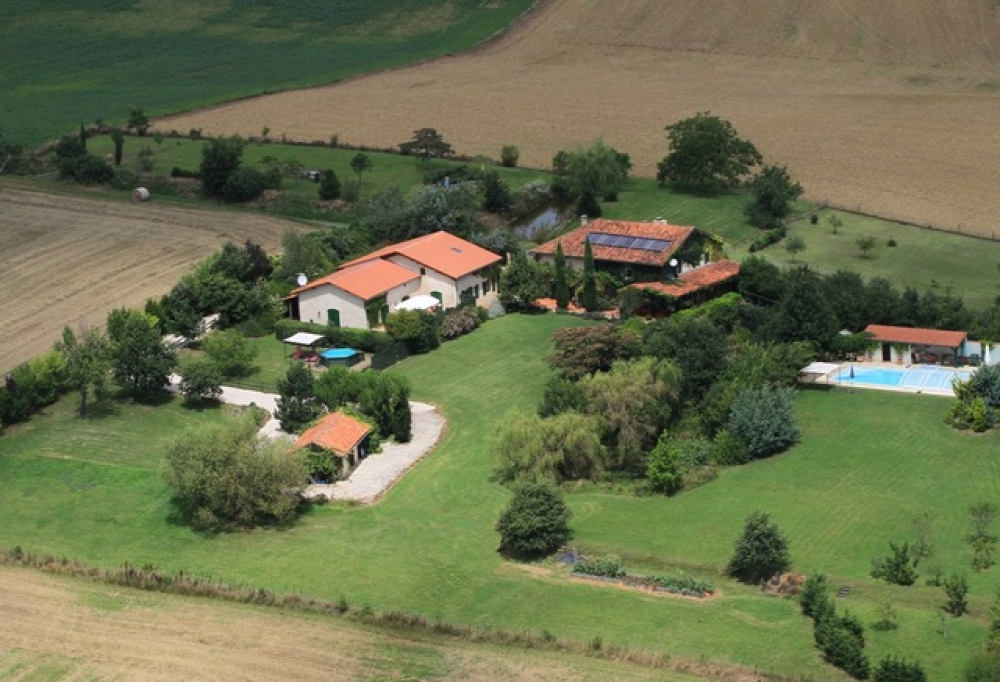 TWO BEAUTIFUL HOUSES WITH POOL FOR SALE IN GASCONY, SOUTH WEST FRANCE