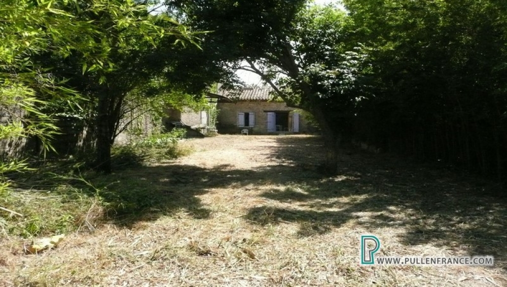 Charming Stone Property With Mature Garden In Minervois Riverside Village