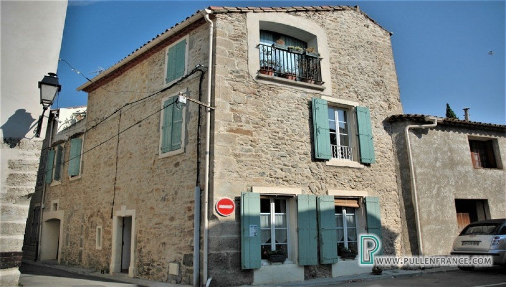 Spacious Village House With Beautiful Stone Exterior In Bize Minervois