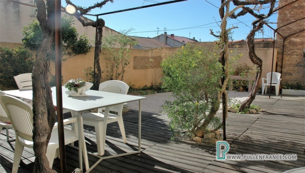 Lovely Village House With Garden And Studio In Lively Herault Village of Puisserguier